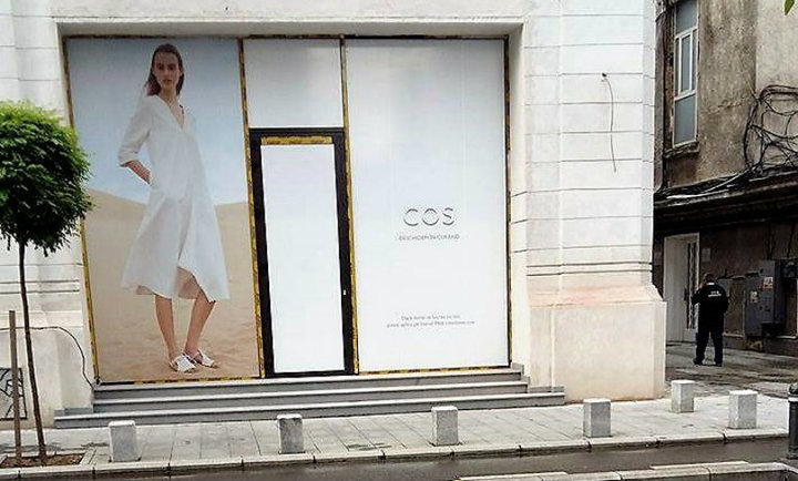 H&M a deschis astăzi primul magazin premium COS din România