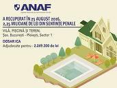 ANAF a mai recuperat 2,25 mil. lei în dosarul ICA, prin vânzarea vilei lui Vlad Săndulescu, fost șef ADS