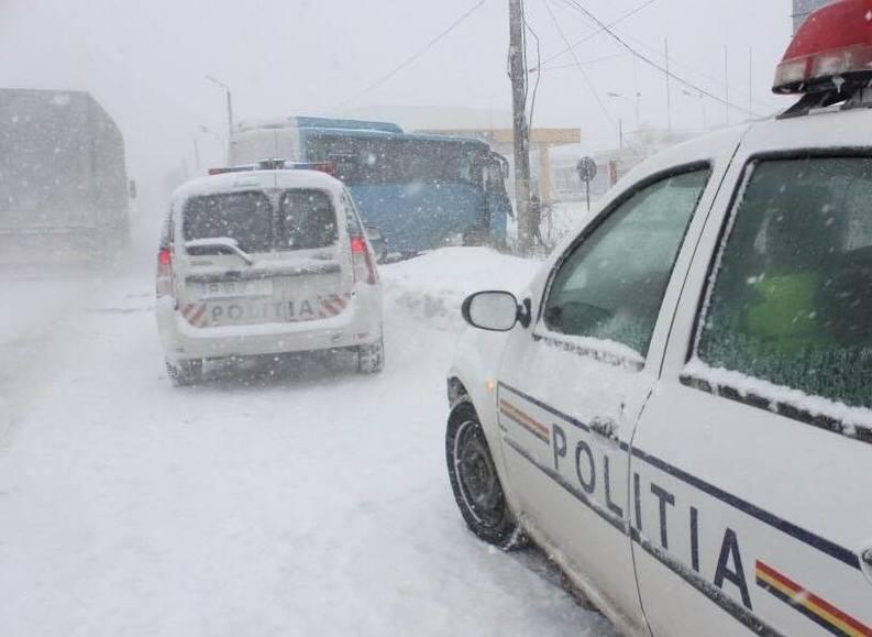 VIDEO Autostrada Soarelui a fost închisă din cauza condițiilor meteo. Situația traficului pe toate drumurile din România
