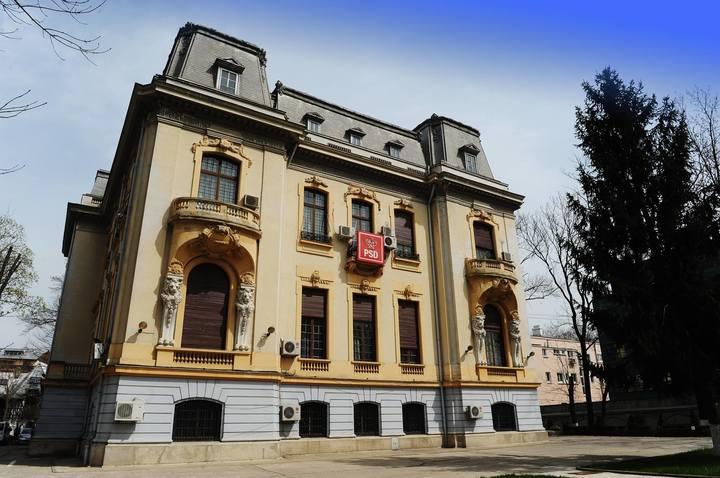 PSD și-a cumpărat sediul central din Șoseaua Kiseleff, evaluat la aproape un milion de euro