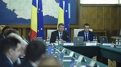 VIDEO Iohannis a condus ședința de Guvern, pentru a bloca ordonanțele de modificare a Codului Penal și de grațiere