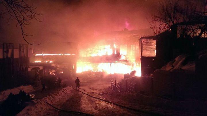 Incendiu în clubul Bamboo din Capitală: 38 de persoane au ajuns la spital, una în stare gravă