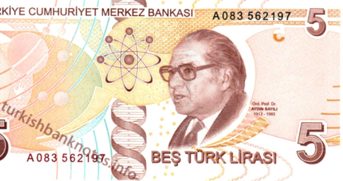 Un laureat al premiului Nobel a identificat o eroare pe bancnotele turcești
