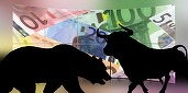 Bursele europene scad la jumătatea ședinței, trase în jos de Deutsche Bank și de titlurile companiilor petroliere