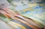 Leul începe 2017 în apreciere în fața euro, cursul coboară sub 4,52 lei/euro