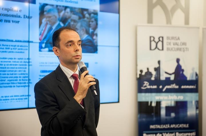 Anghel, BVB: Fondul suveran al României ar putea finanța primele proiecte în 2018, fără a afecta deficitul bugetar