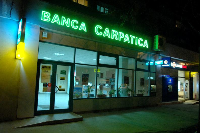 Solvabilitatea Băncii Carpatica a scăzut la 7%, sub pragul minim legal