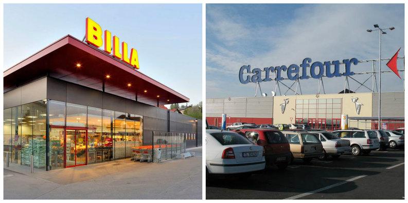 Carrefour România preia rețeaua de supermarketuri Billa