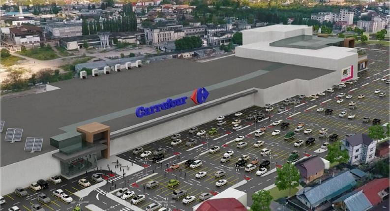 Carrefour va deschide la sfârșitul anului un hipermarket de 10.000 metri pătrați la Piatra Neamț