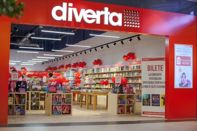 Diverta a deschis un nou magazin al rețelei, în Promenada Mall
