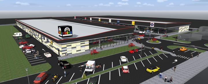 Deichman și Pepco vor deschide magazine în proiectul comercial Prima Shops Oradea
