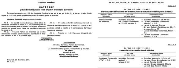 SRI a cedat PMB un teren la groapa de gunoi Iridex, pe care voia poligon. L-a luat în 2001 de la Cora, la schimb cu unul pe care este extins complexul Pantelimon