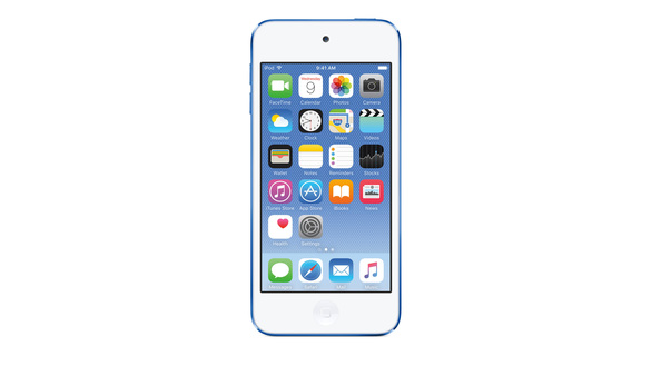 PHOTO Apple starts a new version of the iPod Touch after 4 years. Sales Price
