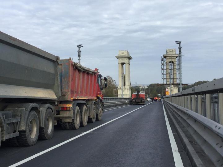 CNAIR a recepționat lucrarea de reabilitare a podului Giurgiu-Ruse; circulația se desfășoară normal
