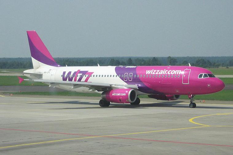 Wizz Air și-a extins flota din București cu o aeronavă, ajungând la nouă avioane