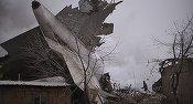 VIDEO Un avion al Turkish Airlines s-a prăbușit într-o zonă rezidențială din Kîrgîzstan