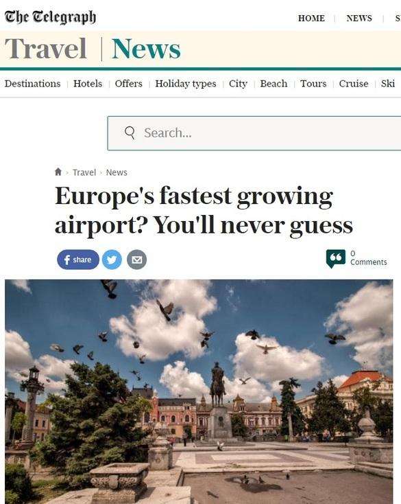 România domină clasamentul aeroporturilor europene cu cel mai rapid avans al traficului de pasageri. Presa străină: Nu veți ghici niciodată cine conduce topul!