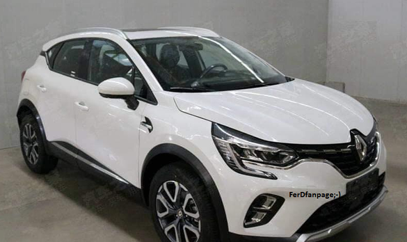 Renault Captur SPOTO PHOTO: The new generation of the SUV was photographed without a camouflage