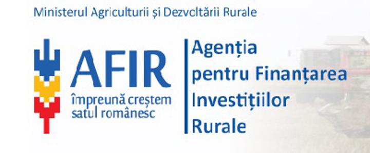 Agenția pentru Finanțarea Investițiilor Rurale suspendă evaluarea pentru proiectele de investiții în infrastructura agricolă