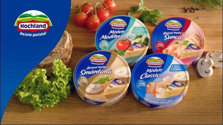 Hochland, lider pe piața brânzeturilor din România, a cumpărat producătorul american de lactate Franklin Foods