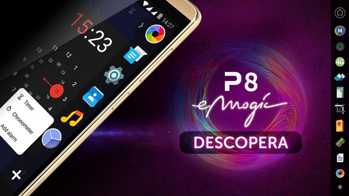 Allview lansează P8 eMagic, un smartphone din categorie inferioară