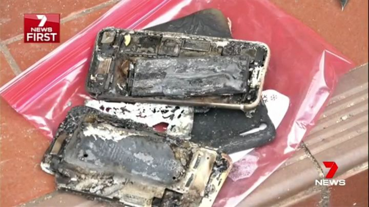 VIDEO Apple investighează un iPhone 7 care a luat foc