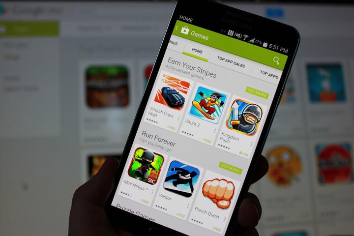 Veniturile aduse de aplicațiile pentru Android au înregistrat o creștere de 82% în ultimul trimestru al anului trecut