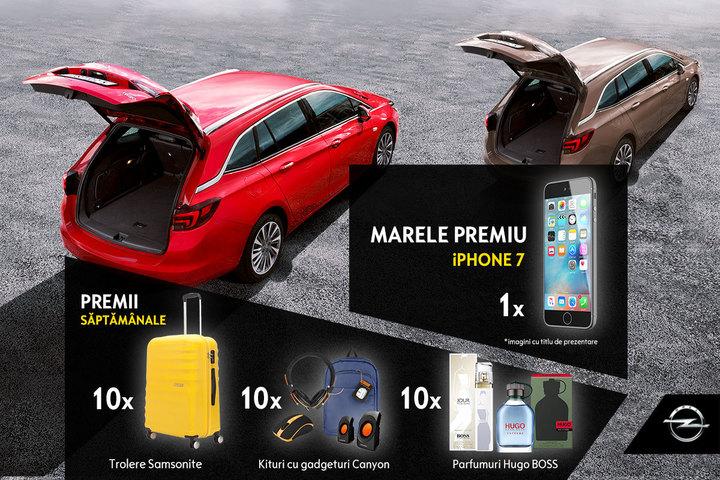 (P) Digi 24 și Opel Astra te invită la concurs! Antrenează-ți portbagajul și câștigă super premii