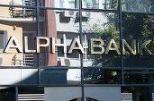 Alpha Bank își reduce pierderile la 2,2 milioane de euro după eliberarea de provizioane