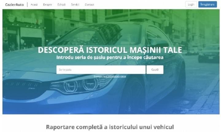 Aplicație împotriva fraudelor la vânzarea de mașini second hand