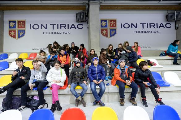 GALERIE FOTO Țiriac a inaugurat un patinoar de 3,6 milioane de euro în Otopeni