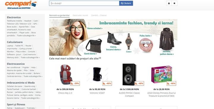 Naspers a vândut platforma românească Compari.ro unei firme din Cehia