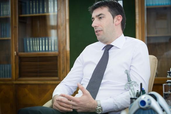Șeful Cancelariei Prim-ministrului, Dragoș Tudorache; Sursa foto: Profit.ro / Laszlo Raduly