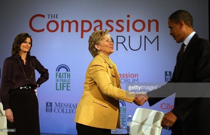 """Hillary Clinton s-a referit prima oară în context electoral la """"decrețeii"""" din România în 2008, într-o dezbatere cu Obama"""