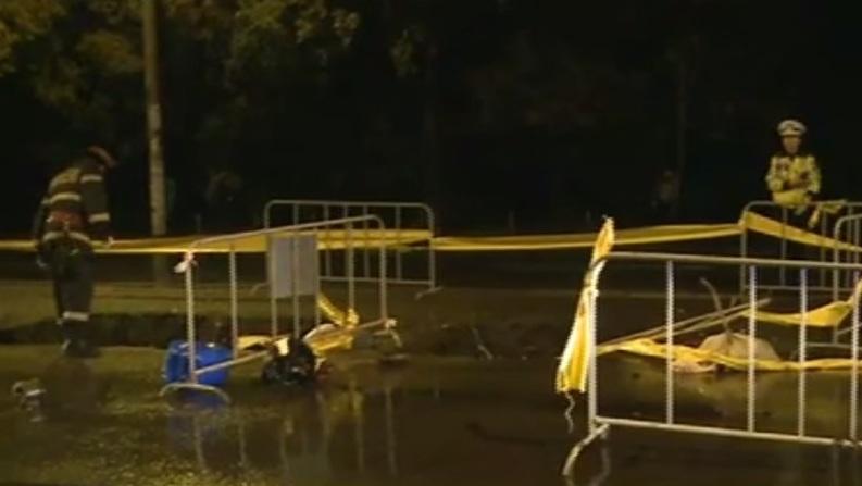 Poliția confirmă: agentul de la Rutieră, decedat în accident, făcea parte din coloana oficială a lui Gabriel Oprea