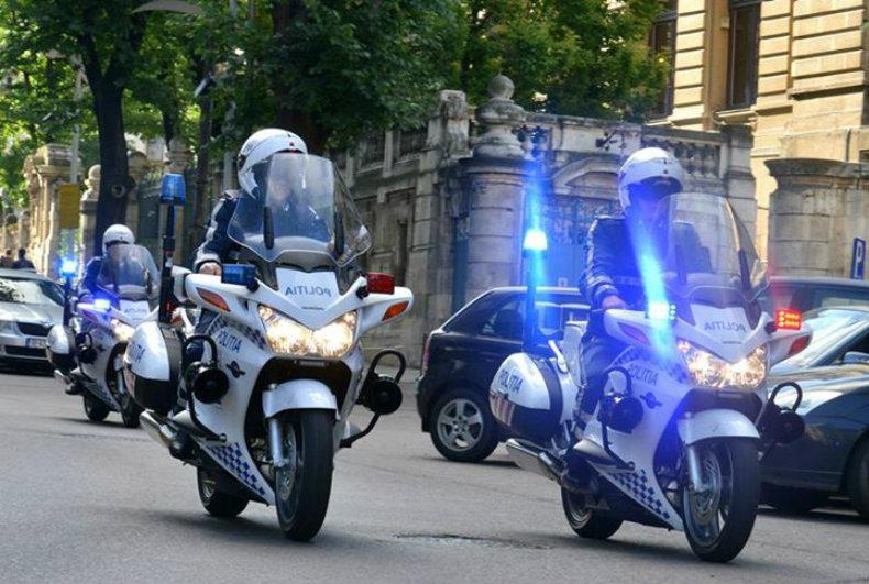 EXCLUSIV Încă un polițist-motociclist accidentat în timp ce îl escorta pe Gabriel Oprea