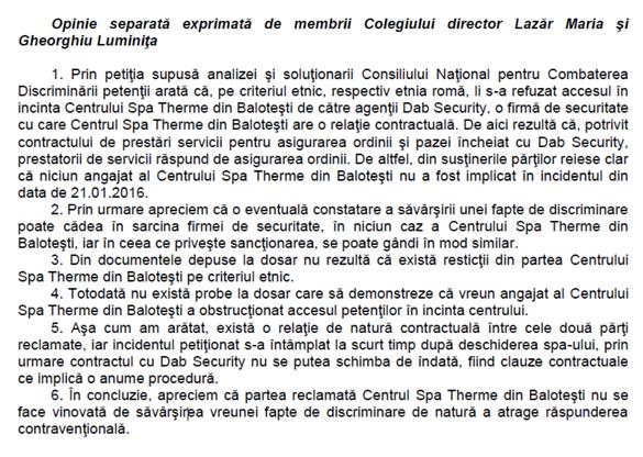 Sursă: Consiliul Național pentru Combaterea Discriminării
