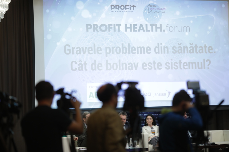 Profit Health.forum - Gravele probleme din sănătate. Cât de bolnav este sistemul?