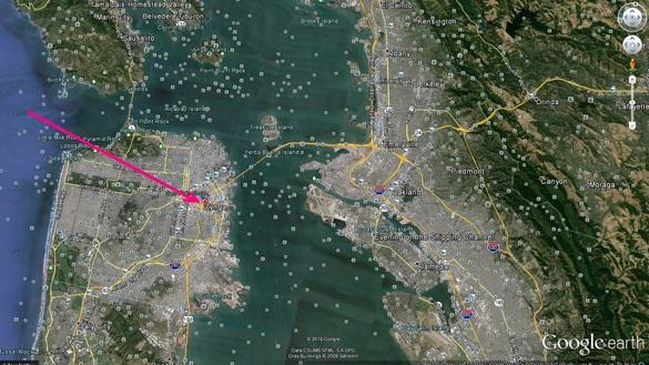 Un loc de invidiat la Golful San Francisco, una dintre cele mai scumpe piețe imobiliare din lume.