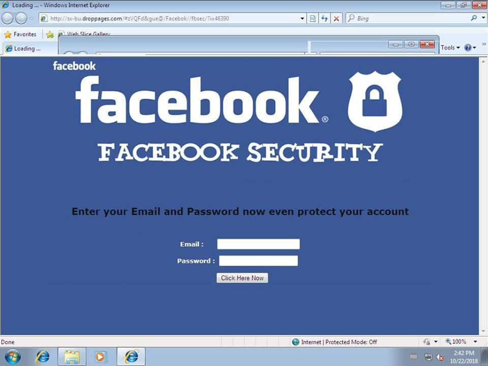 Utilizatori Facebook, vizați de o nouă campanie de tip phishing. Referire la accidente grave