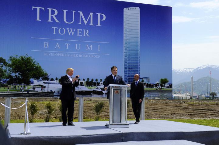 Trump Organization renunță la construcția unui Trump Tower de 250 milioane dolari în Georgia, la Marea Neagră