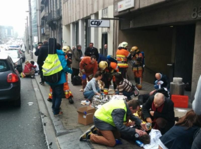 Doliu naţional în România joi, pentru victimele atentatelor din Bruxelles