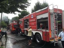 Incendiu într-un restaurant din Sectorul 4 al Capitalei, în zonă s-a degajat foarte mult fum