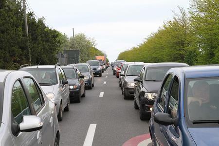 Trafic restricţionat pe două tronsoane ale DN 1, în judeţul Prahova, pentru lucrări