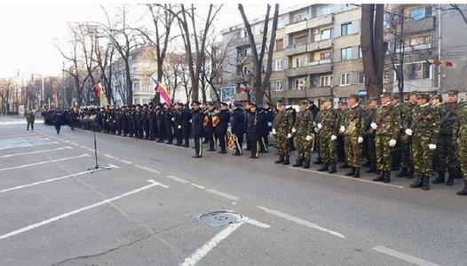 Trafic rutier închis pe un bulevard din Timişoara şi restricţionat pe mai multe străzi din cauza repetiţiilor pentru 1 Decembrie