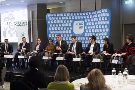 CONFERINŢA NEWS.RO - Angajatorii români şi străini încurajează învăţământul dual: Un sudor câştigă la noi în jur de 600-750 de euro net. În străinătate are 2.300 de euro