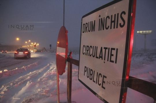 drumuri închise (Foto: Inquam Photos / Raul Giuglea)