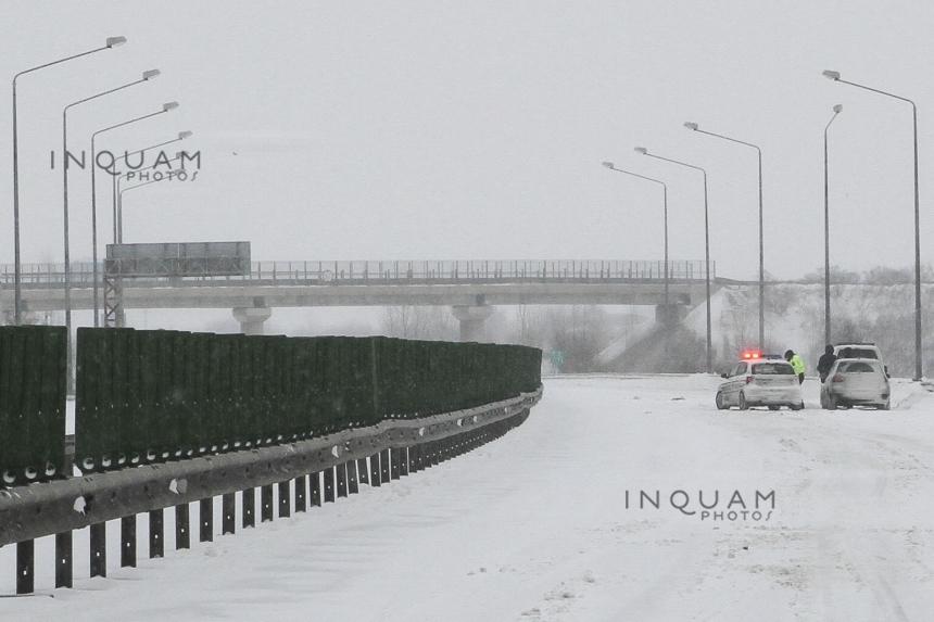 Autostrada A3 Bucureşti - Ploieşti, închisă din cauza viscolului