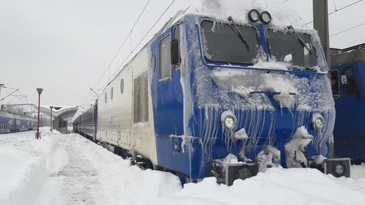 CFR Călători a anulat 37 de trenuri, majoritatea dintre ele deservind zona de est a ţării