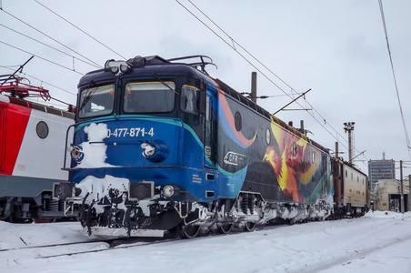 CFR Călători a anulat vineri 21 de trenuri, din cauza viscolului